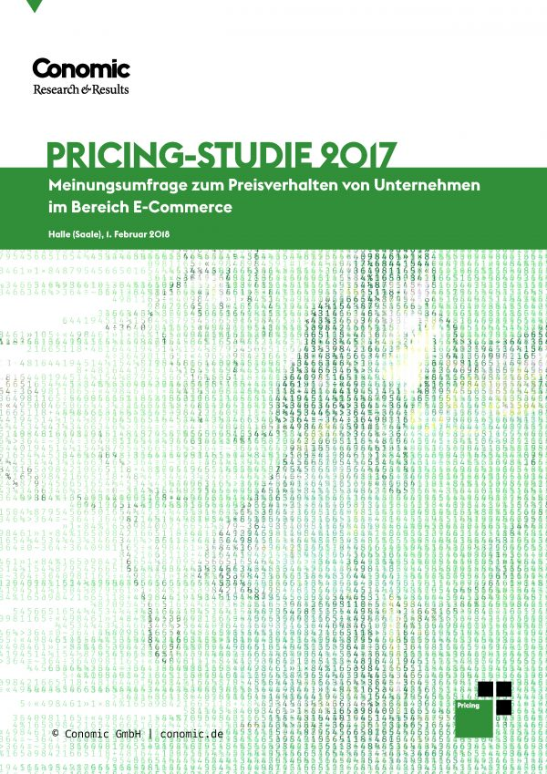 Pricingstudie 2017 Conomic Whitepaper